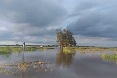 En Gancedo se registraron 340 mm