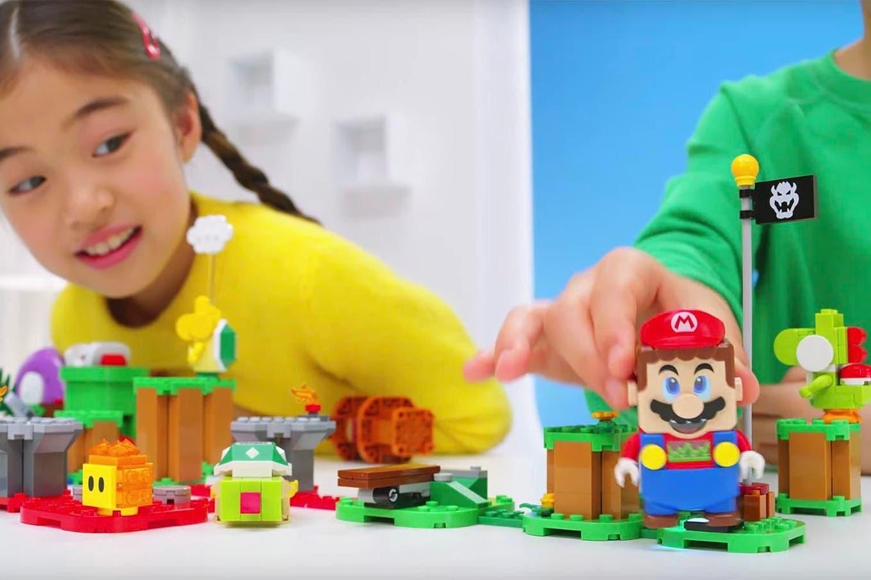 Lego y Nintendo permitirán crear niveles interactivos de Super Mario Bros en la mesa de tu casa