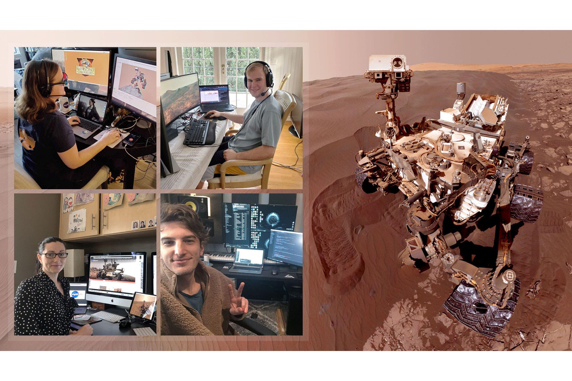 Desde casa hasta Marte: así funciona el control remoto de la NASA del rover Curiosity
