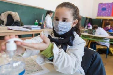 Los protocolos de regreso a las aulas incluyeron apartados sobre sanidad específicos para estudiantes y funcionarios.