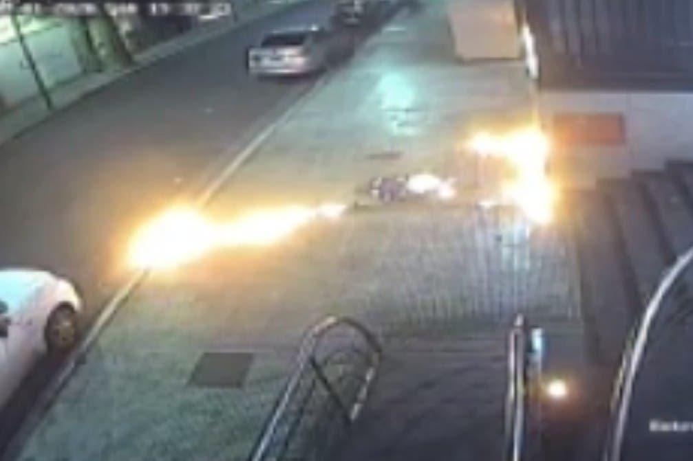 El gobierno porteño denunció un ataque con bombas molotov los grupos anarquistas a la sede de Gendarmería