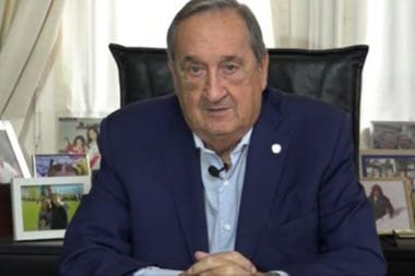 Miguel Ángel Lunghi, intendente de Tandil