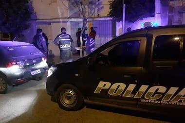 El operativo policial se dio en la vivienda de uno de los integrantes de la fuerza nacional