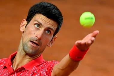 Diego Schwartzman-Novak Djokovic, por el ATP Masters 1000 de Roma: el Peque empezó a buen ritmo, pero perdió el primer set