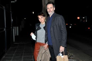 Valeria Gastaldi junto a su pareja, Facundo Pereyra Iraola.