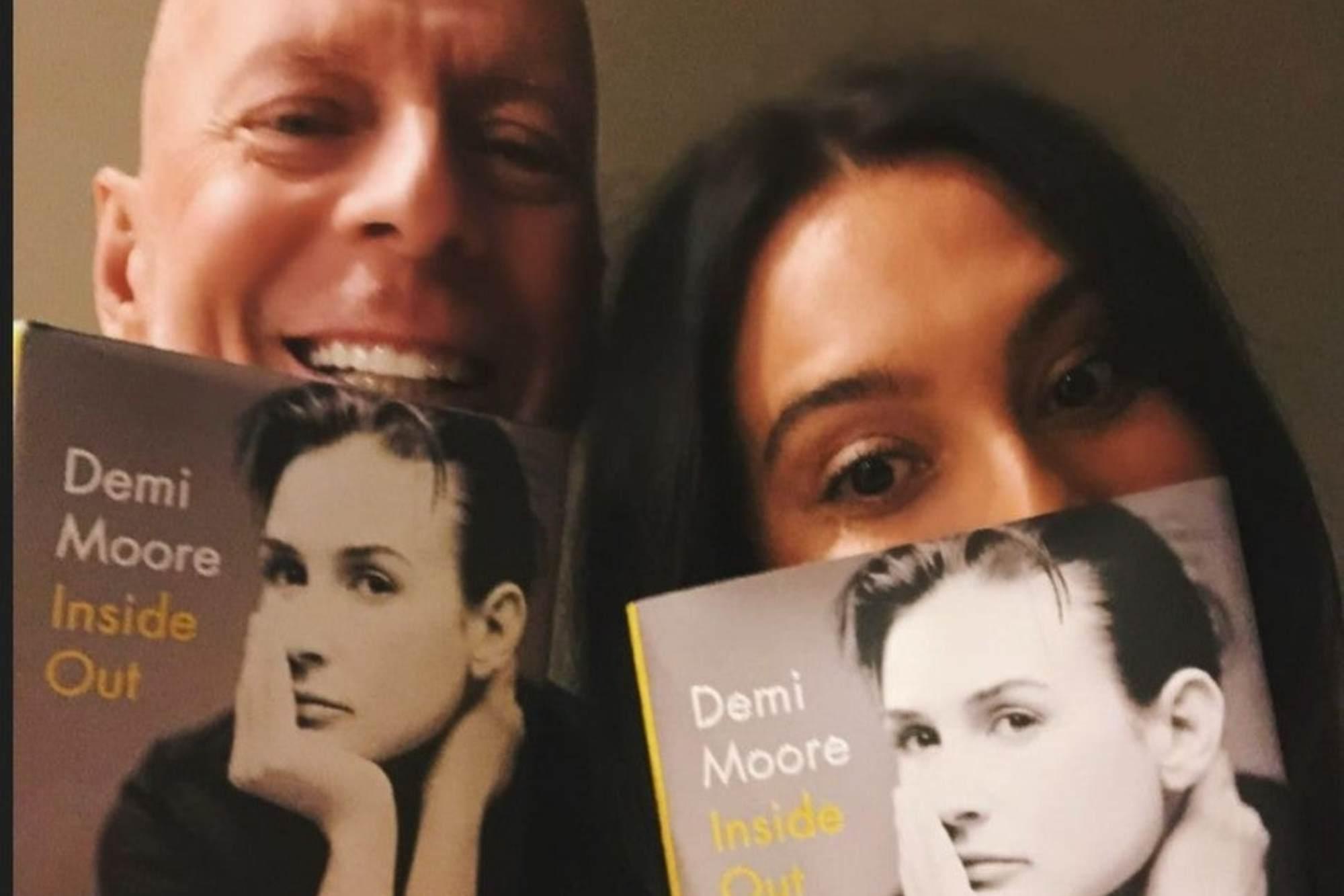 """El saludo de Bruce Willis y su esposa a la ex del actor, Demi Moore: """"Te adoramos"""""""