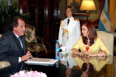 Jorge Brito y Cristina Fernández de Kirchner