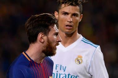 Messi y Cristiano Ronaldo se reencuentran el 2 de mayo de 2018, 2-2 entre Barcelona y Real Madrid.  El conflicto volverá a ser en el Camp Nou
