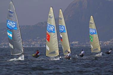 Facu Olezza en Río 2016, su debut olímpico cuando tenía 20 años