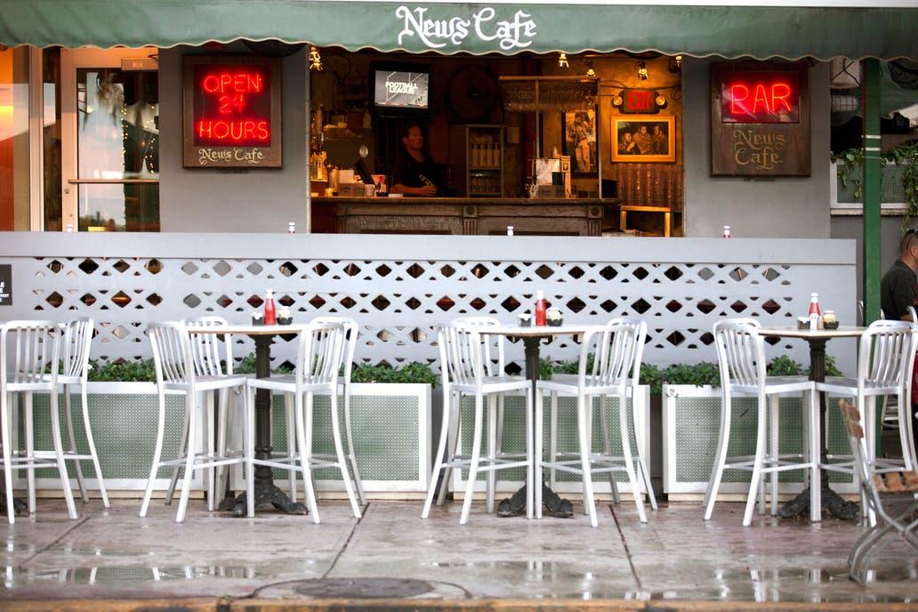 El clásico café de Miami que abre las 24 horas: News Café