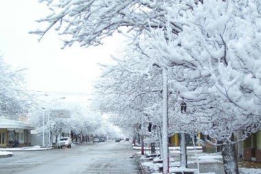 En las únicas dos provincias en las que nunca hubo reportes de nevadas son Chaco y Formosa
