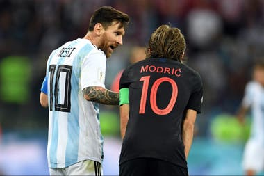 Modric es la figura de la histórica participación de Croacia en el Mundial.