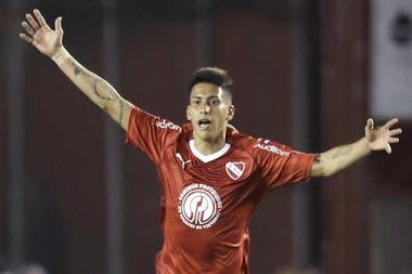 Maximiliano Meza emigró a Monterrey. Independiente lo extraña.
