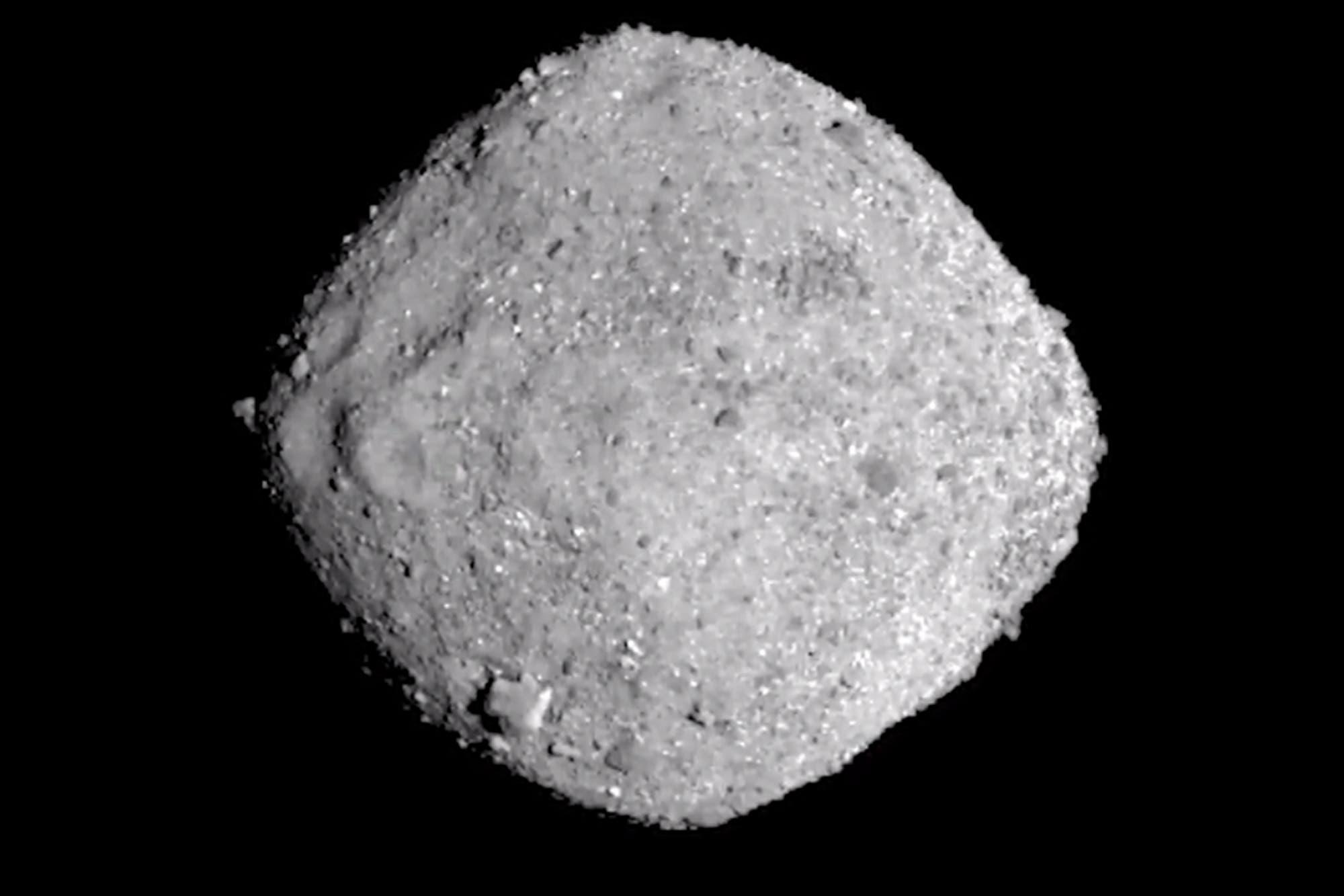 La Nasa publica la imagen de un asteroide que podría chocar contra la Tierra