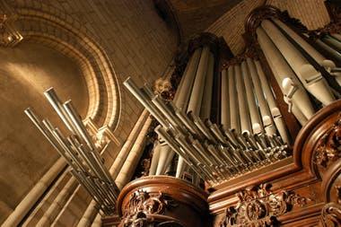 El imponente órgano de la catedral