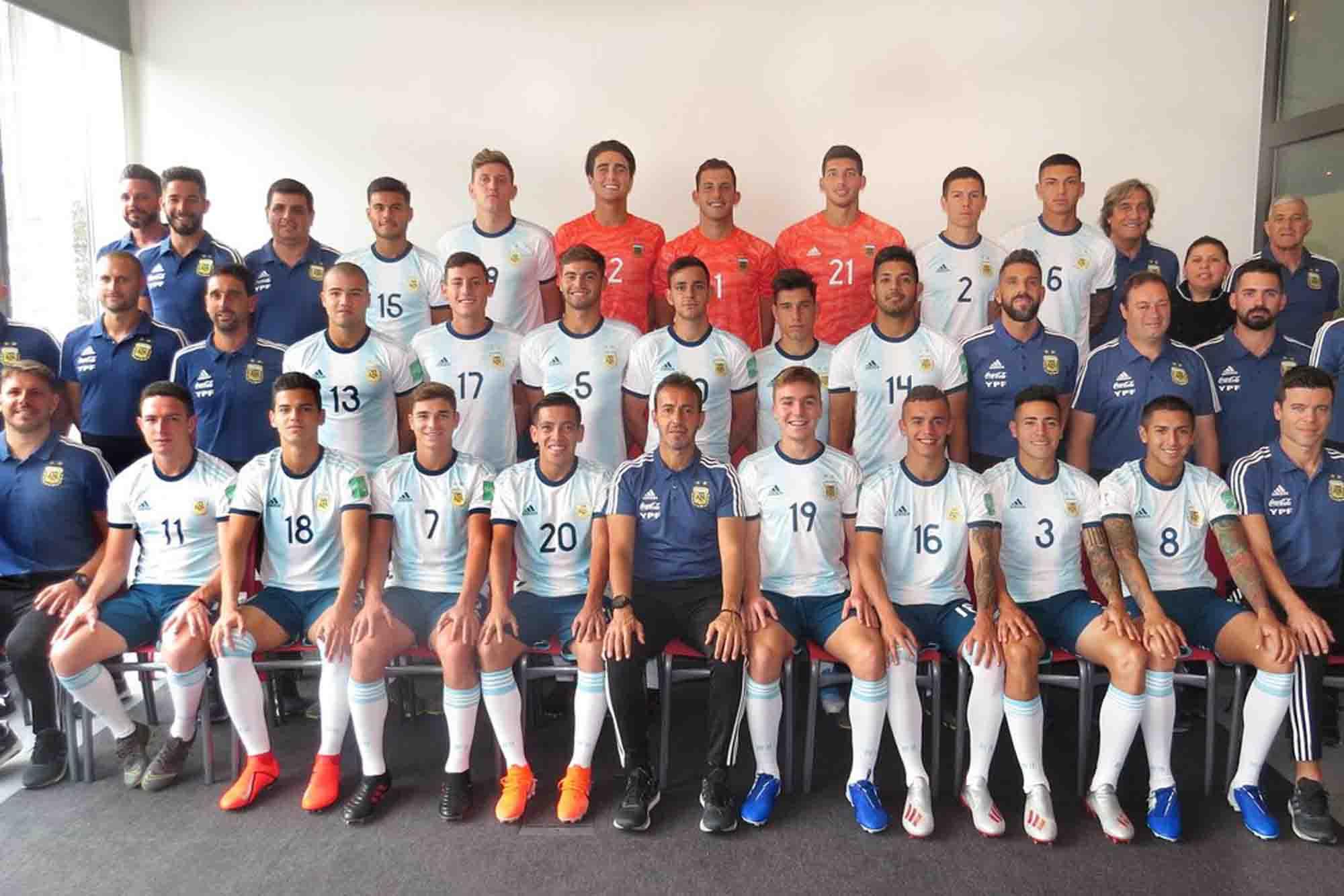 Argentina-Sudáfrica: cómo ver online el partido por la primera fecha del Mundial Sub 20