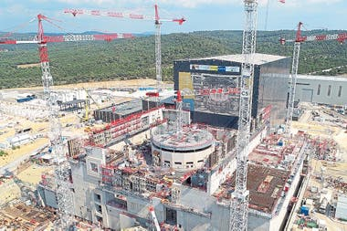 Vista aérea del sitio de construcción de ITER, en sur de Francia