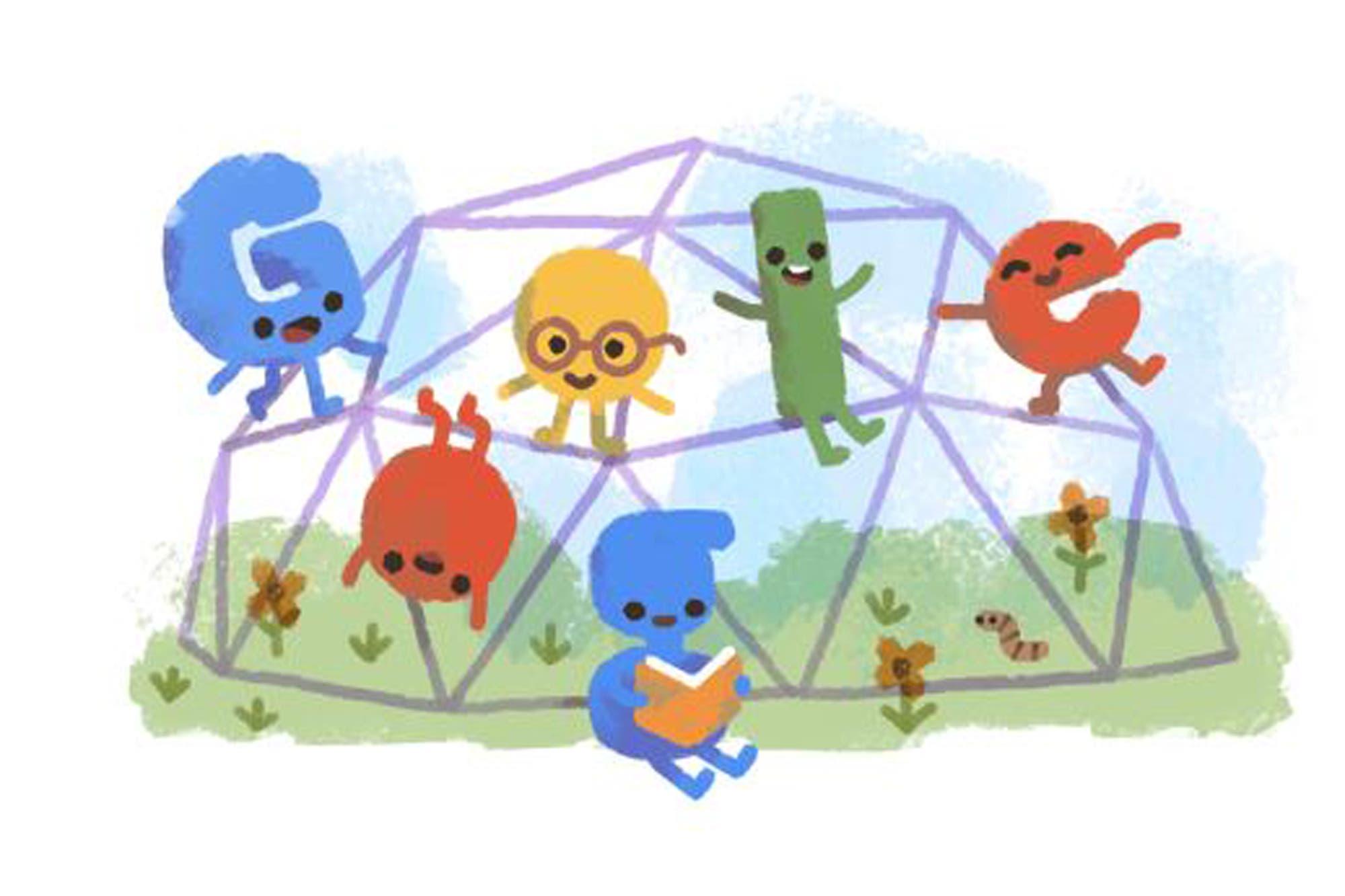 Google celebra el Día del Niño con un colorido Doodle