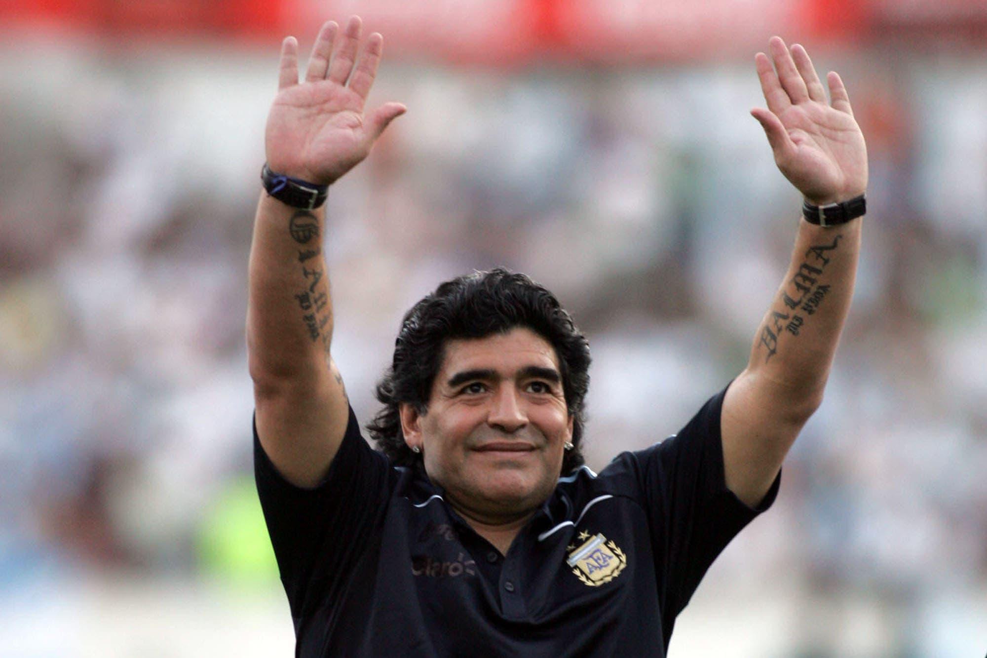Mandiyú, Racing y la selección: cómo le fue a Diego Maradona dirigiendo en la Argentina