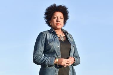 """Miriam Gomes, activista e integrante de la Sociedad de Socorros Mutuos """"Unión caboverdeana"""""""