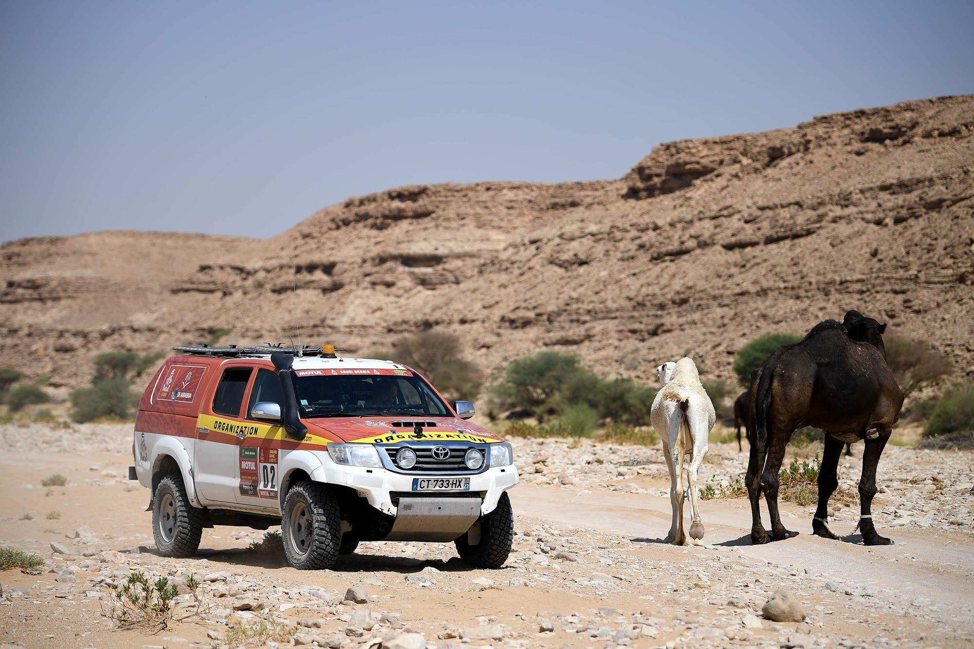 Rally Dakar 2020. Un cuaderno, una linterna y un lápiz: el argentino que diseña en el desierto un recorrido entre dunas y camellos