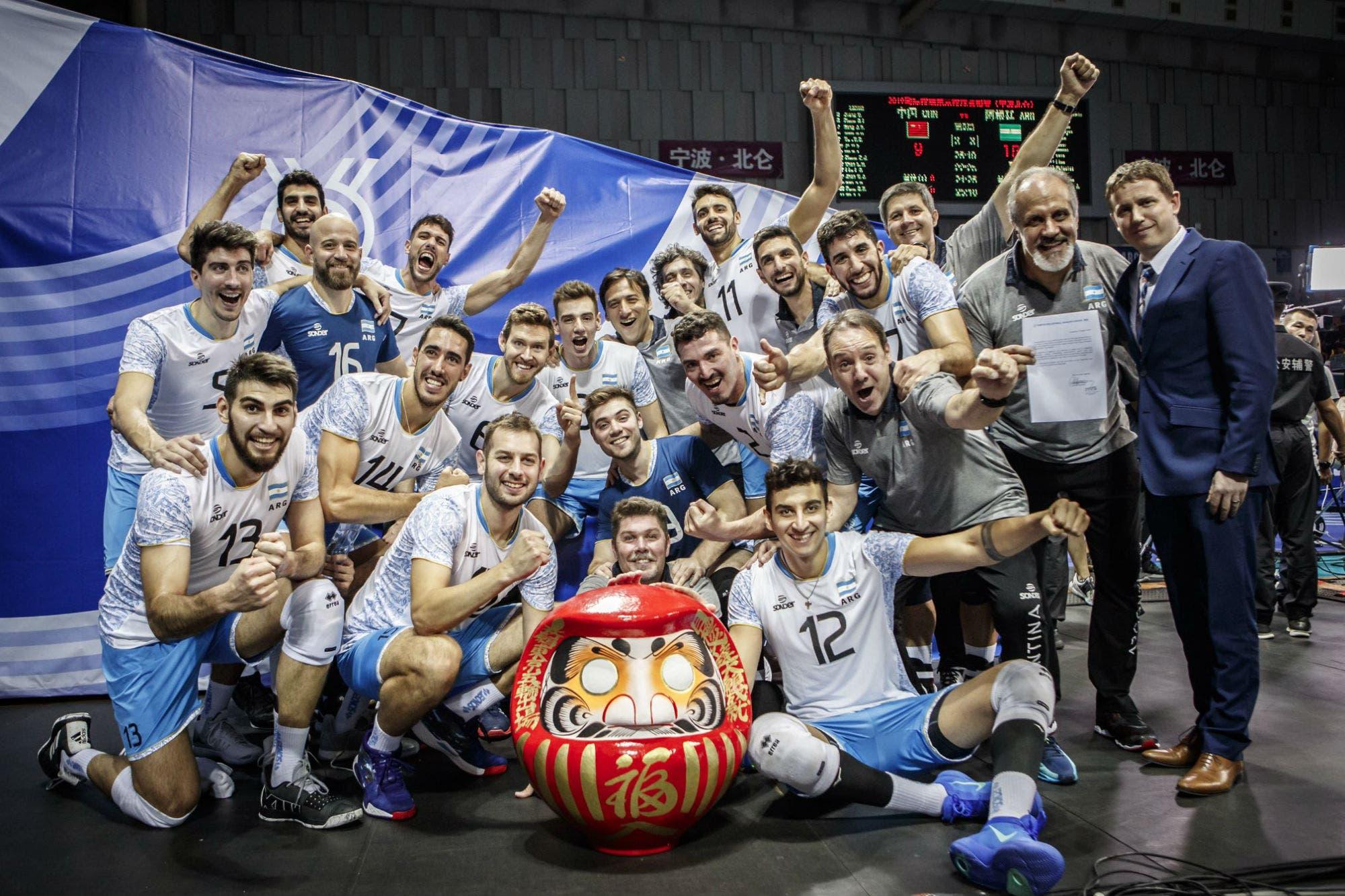 Tokio 2020: el vóleibol argentino tiene los grupos definidos para los Juegos Olímpicos
