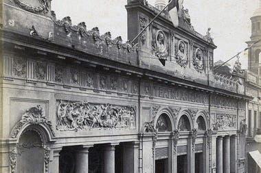 Antes: El gran teatro Argentino