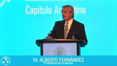 El Presidente, durante su exposición en el encuentro organizado por Cicyp
