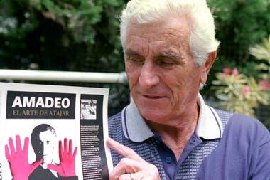 Amadeo Carrizo, una leyenda en el arco de River