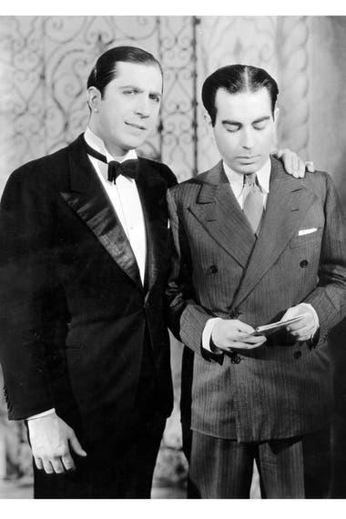 Carlos Gardel y Alfredo Le Pera