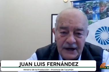 Juan Fernández, ministro de producción de Tucumán