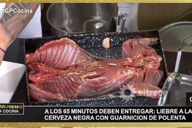 Según la productora, la liebre europea fue presentada como la mara, confusión que generó polémica entre vecinos rionegrinos