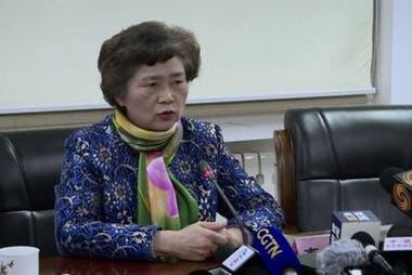Li Lanjuan, de la Facultad de Medicina de la Universidad de Zhejiang, dice que el gobierno chino actuó correctamente.