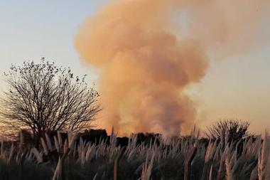 Incendios en la Reserva Natural Provincial Santa Catalina