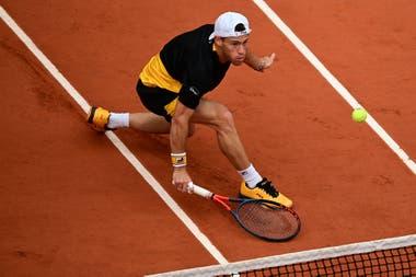 El Peque Schwartzman pasó la barrera de los cuartos de final en un Grand Slam y ya es top ten