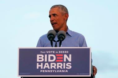 Obama salió al ruedo mientras Biden prepara el debate con Trump