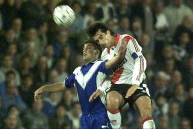 Trotta, referente de Vélez y River en la década del 90