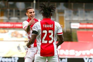 Lassina Traoré, el goleador que tiene el Ajax y sueña con la Champions League