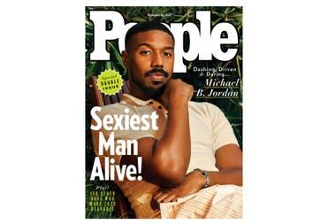 Michael B. Jordan en la portada de People