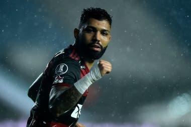 Gabigol, autor del gol de Flamengo