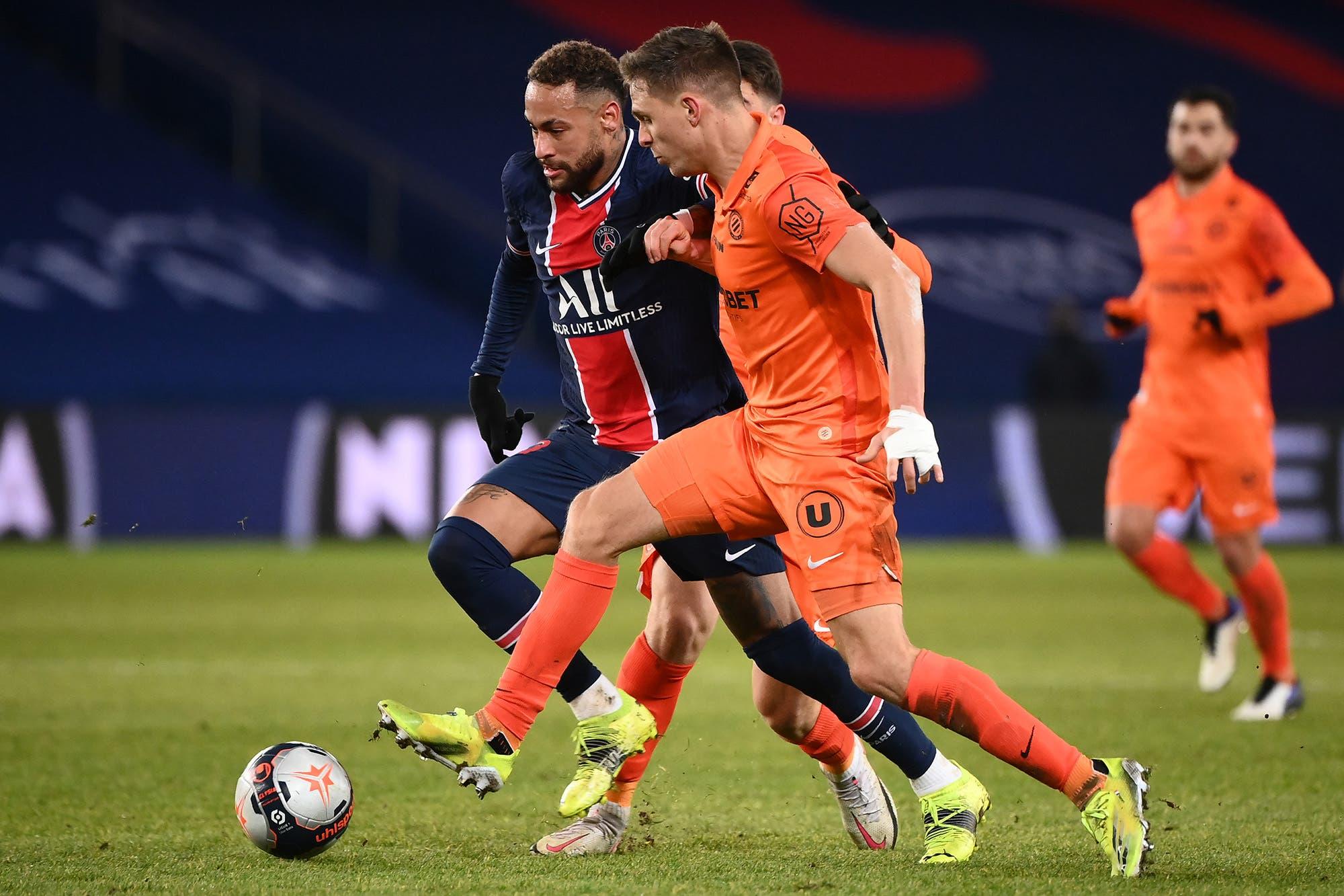 PSG goleó por 4-0 a Montpellier por la Ligue 1 de Francia con goles de Icardi, Neymar y Mbappé en el regreso de Mauricio Pochettino tras superar el Covid-19