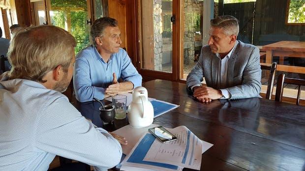 Mauricio Macri recibió a Rodríguez Larreta, Arcioni y Weretilneck en Villa La Angostura