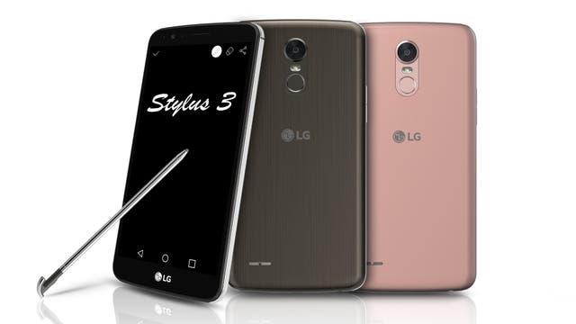 El LG Stylus 3 respeta el diseño clásico de LG con el sensor de huellas digitales en el dorso