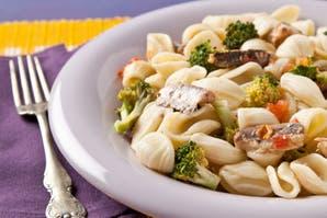 Orecchiette con salsa de brócoli