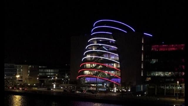 El Centro de Convenciones de Dublín. Foto: @lagachaa