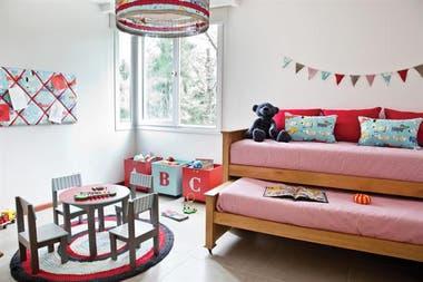 Claves para decorar un cuarto infantil compartido - LA NACION