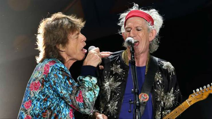 Mick Jagger y Keith Richards, en La Plata