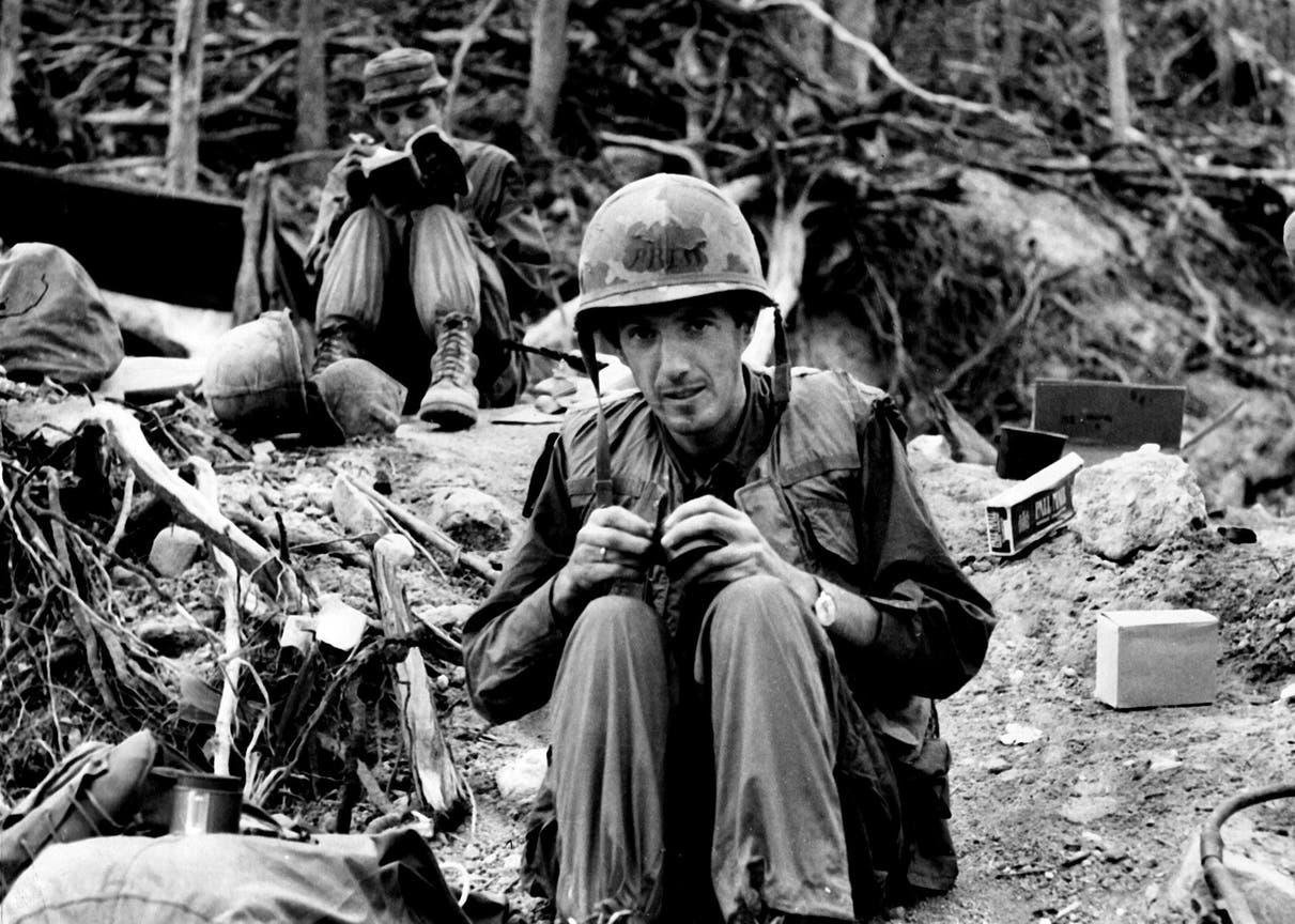 Con 28 años, Ignacio Ezcurra cubrió para este diario la Guerra de Vietnam