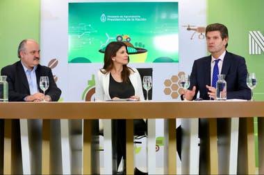 Mario Ravettino (consorcio ABC), Eleonora Cole, Horacio Busanello (HBconsulting)