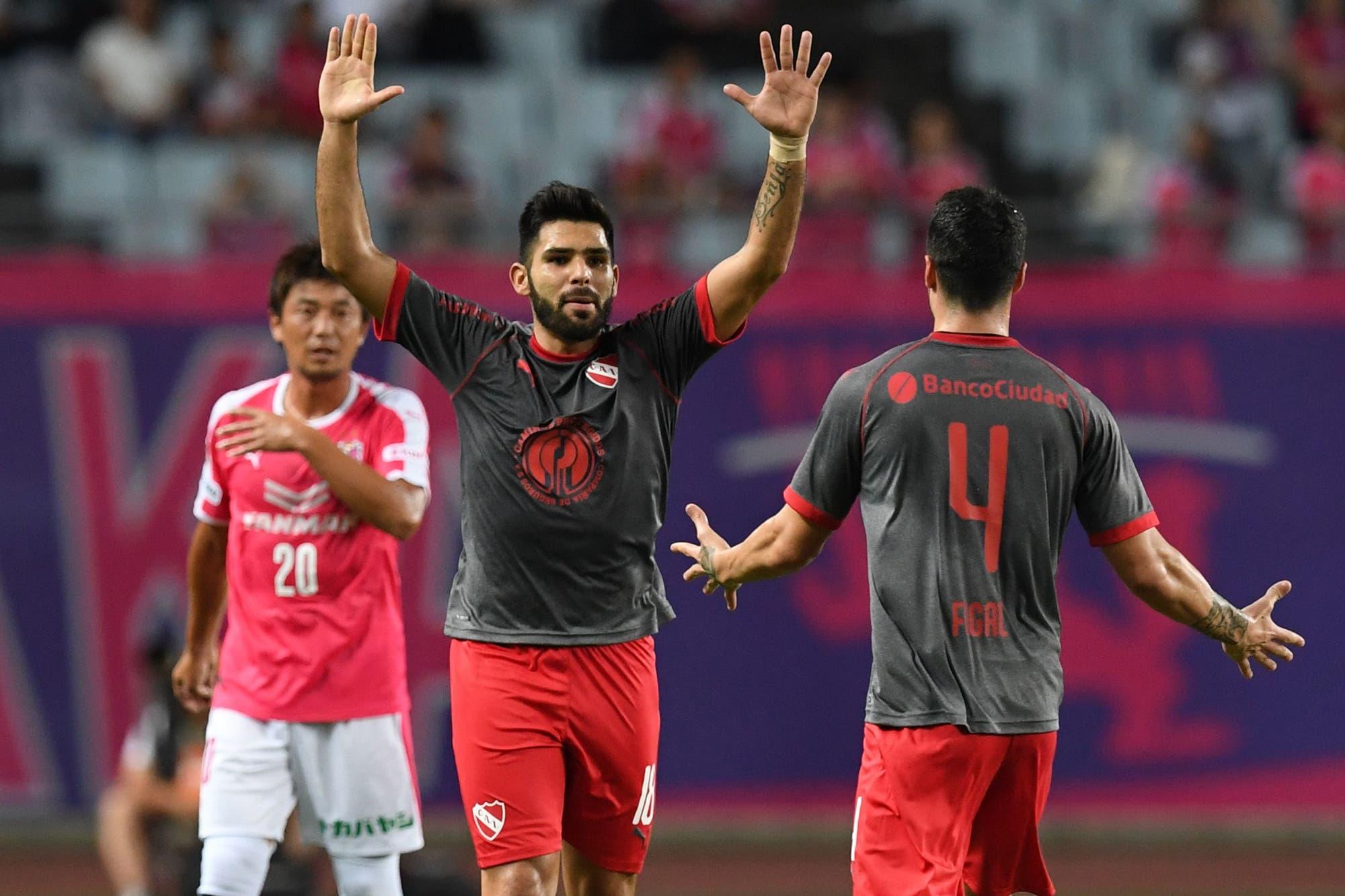 Independiente-Cerezo Osaka, por la Copa Suruga Bank: el video del gol de Silvio Romero